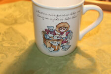 Vintage 1985 Hallmark Rim Shots Office Administrative Secretary Coffee Mug Cup
