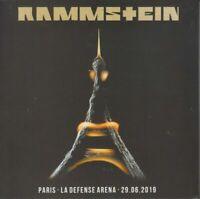 "RAMMSTEIN ""Paris - la défense 2019"" (RARE 2 CD)"