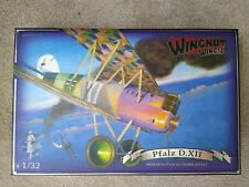 WINGNUT WINGS PFALZ D.XII 1/32 KIT 32019 NEW OOP BEFORE WNW CEASED TRADING.