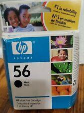 New HP 56 Black  Ink Cartridge