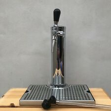 Tap Tower Single self closing Faucet flow adjuster with drip tray corny beer keg