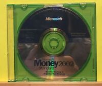 Pre-owned ~ Micrsoft Money 2002 Standard Software Disc CD-ROM 2001