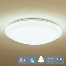 AUROLITE LED IP44 Bathroom Kitchen 24W Ceiling Lights Ø 35cm 1950LM 4000K