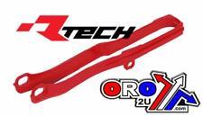 Zapatilla De Honda Crf RACETECH cadena deslizante R 450 2017 17 Motocross Rojo 0608