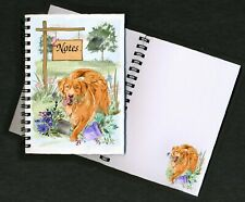 Nova Scotia Duck Toller Notebook/Notepad + small image on every page - Starprint
