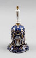 9987089 Porzellan Othengrafen blaue Glocke Damenportraits 8x15cm