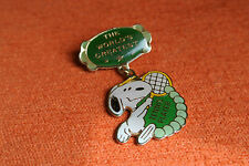 08695 PIN'S PINS BD SNOOPY TENNIS PLAYER BADGE EPINGLETTE 80's