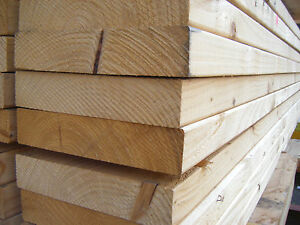 SOFTWOOD C16 KILN DRIED EASED EDGE JOISTS EX 50mm X 200mm (8X2) VARIOUS LENGTHS