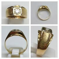 Brillantring 585 er 14K Gold Ring  Brillant 0,25 ct Goldring