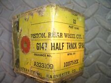 G-147 Half track Brake cylinder piston replacement,front or rear.