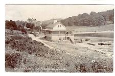 Boathouse - Llandrindod Wells Real Photo Postcard 1912