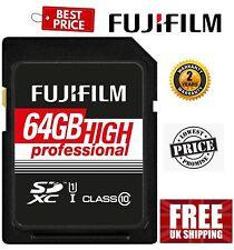 Fujifilm SDXC 64GB UHS-I Class10 Pro Memory Card 04005321 (UK Stock)