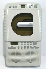 Shower Cd Am/Fm Radio With Alarm Preset Stations Model Scd-2001 Tested Works!