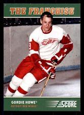 2012-13 Score Franchise Original Six #OS2 Gordie Howe Red Wings (ref 29653)