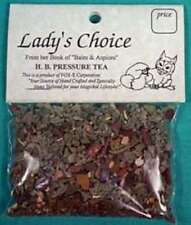 LADIES CHOICE HIGH BLOOD PRESSURE TEA PROMOTES HEALING  5+ CUPS MARSHMALLOW