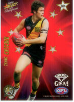 2009 Select AFL Champions Stars Red Gem Card SG24: Trent Cotchin (Richmond)