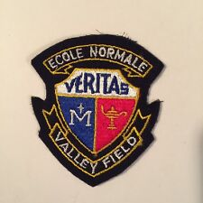 ECOLE NORMALE VERITAS VALLEY FIELD PATCH