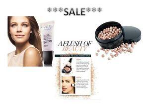 AVON Illuminating Face Pearls/NEW Blush Pearls/Magix Face Perfector/Brush~SALE
