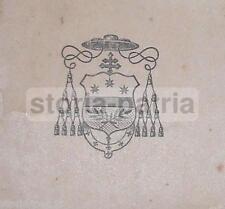 LUCCA_ARCIVESCOVO LORENZELLI_OMELIA_NATALE 1905_ARALDICA_CON AUTOGRAFO_EX-LIBRIS