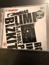 Rock in the Park 2001 by Limp Bizkit (Cd & Dvd Jul-2009)