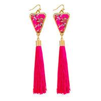 Dangle Earrings Women Vintage Ethnic Drop Bohemian Long Tassel Earring Jewelry G