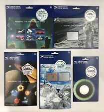 USPS Space Achievement and Exploration SET of 5 World Stamp Expo 2000