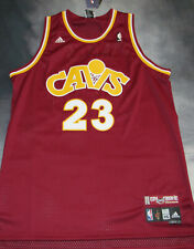 100% Authentic Adidas Cavs Fanatic Lebron James Jersey SZ 2XL 52 New Swingman