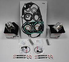 Yamaha Banshee YFZ350 STD Bore 64mm Wiseco Forged Pistons Complete set Gasket