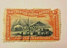 50 centimes poste aérienne CONGO BELGE / Postluchtdienst - 1926  PA1