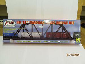 "Atlas HO Code 100 18"" Truss Bridge Parts for Kit Bashing P/N 888, Used Open Box"