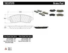C-TEK Metallic Brake Pads fits 1999-2005 Ford Excursion F-250 Super Duty,F-350 S