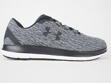 Mens Under Armour Remix 3020193 001 White Black Running Sports Trainers