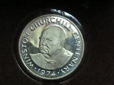 1974 Turks and Caicos Island Winston Churchill Centenary 20 crowns