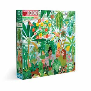 eeBoo 1000 Pc Puzzle – Plant Lady Kids Puzzle Family Puzzle 04426