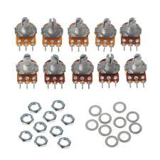 10 Pcs 20K WH148 Single Linear Potentiometer B1K 2K 5K 10K 50K 250K 100K 500K 1M