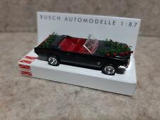 Busch 47509 Ford Mustang Hochzeit * Cabrio mit Blumenbukett * schwarz mit Rosen