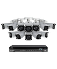 Lorex 16 channel NR9163X 4K home security system with 12 8MP 4K LNB8111B Bull...
