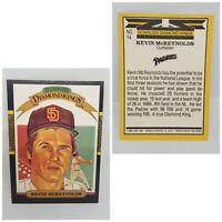 1987 Donruss Diamond Kings Kevin McReynolds San Diego Padres #14 Baseball Card