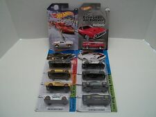 Lot of 10 Hot Wheels Ford Mustangs 68 10 Shelby GT500 65 Fastback 007 71 Mach 1