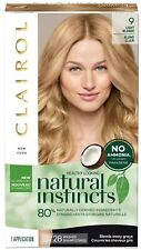 Clairol Natural Instincts Demi-Permanent Hair Color Matches Light Blonde [9]