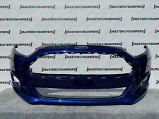 FORD FIESTA MK9 2012-2016 FRONT BUMPER NO PDC HOLES GENUINE [F632]