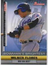 2011 Bowman Bowman's Brightest #BBR17 Wilmer Flores