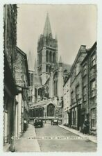 Cathedral from St. Marys Street Truro Dearden & Wade Postcard, C071