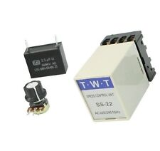 1PCS SS-22 20K Ohm Potentiometer 220V/240V Electric AC Motor Speed Controller UK