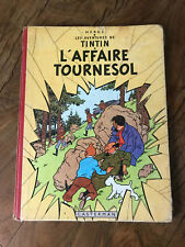 Tintin - Ablum - L'affaire Tournesol - 1958 - B23bis