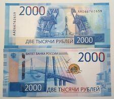 [RU183] Russia 2000 roubles 2017 AA series UNC