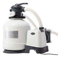 Intex 28652  Pompa a Sabbia 12.000 L/h Filtro Sabbia Portata 10 m³ / h