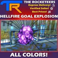 [XBOX ONE] Rocket League Every Hellfire Black Market Goal Explosion Grey etc.