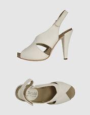 SOFIA TARTUFOLI Sandali tacco plateau scarpe donna Bianco tg. 40