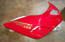 Carena Ducati Supersport 400 DESMODUE Cover side Ducati 400 SS Vollverkleidung